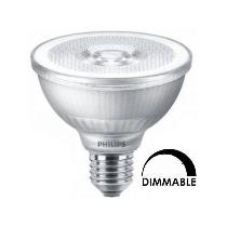 Ampoule LEDspot Philips Master PAR30S 9W- Substitut 75W 760 lumens Blanc neutre 3000k Dimmable E27