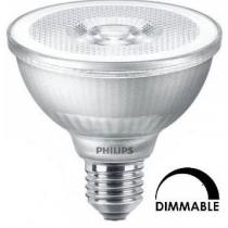 Ampoule LEDspot Philips Master PAR30S 9W substitut 75W 840 lumens blanc froid 4000K dimmable E27