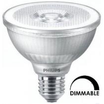 Ampoule LEDspot Philips Master PAR30 9.5 substitut 75w 740 lumens blanc chaud 2700K Dimmable E27