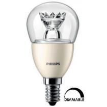 Ampoule LED Philips Sphérique P45 3,5 W substitut 25W 250 lumens blanc chaud 2700k Dimmable E14