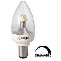 Ampoule LED Calex 4W substitut 25W 250 lumens  blanc chaud 2700k dimmable Ba15d