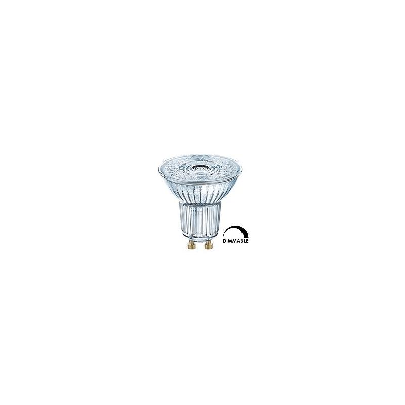 Ampoule LED OSRAM  PAR16 4.6W substitut 50w 350 lumens blanc froid 4000K dimmable GU10