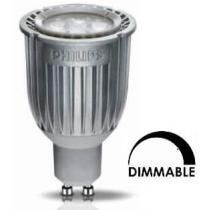Ampoule LEDspot PHILIPS Tubulaire 8W substitut 50w 450 lumens Blanc neutre 3000K Dimmable GU10