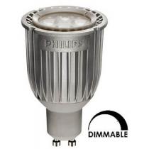 Ampoule LED spot Philips tubulaire 7W substitut 50W 430 lumens blanc chaud 2700K dimmable GU10