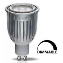 Ampoule LEDspot PHILIPS Tubulaire 8W substitut 50w 450 lumens Blanc chaud 2700K Dimmable GU10