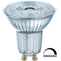 Ampoule LED OSRAM PAR16 4.6W substitut 50W 350 lumens blanc chaud 2700K dimmable GU10