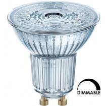 Ampoule LED OSRAM PAR16 7.2W substitut 80W 575 lumens blanc froid 4000K DIMMABLE GU10