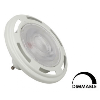 Ampoule refLED Sylvania ES111 11,5W substitut 75-100W 1000 lumens blanc neutre 3000K dimmable  GU10