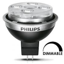 Ampoule LEDspot Philips MR16 7w substitut 50w 450 lumens blanc neutre 3000K dimmable Gu5.3