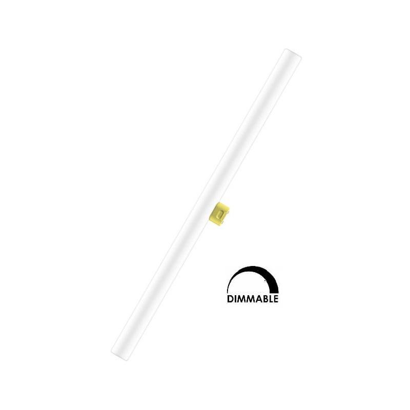 Ampoule LED OSRAM tubulaire linéaire 9W substitut 38W 450 lumens blanc chaud 2700k Dimmable S14D