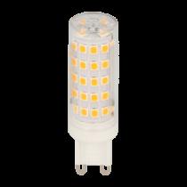 Ampoule LED SMD  8W substitut 50-60W 750 lumens blanc chaud 2700K 220-240V G9