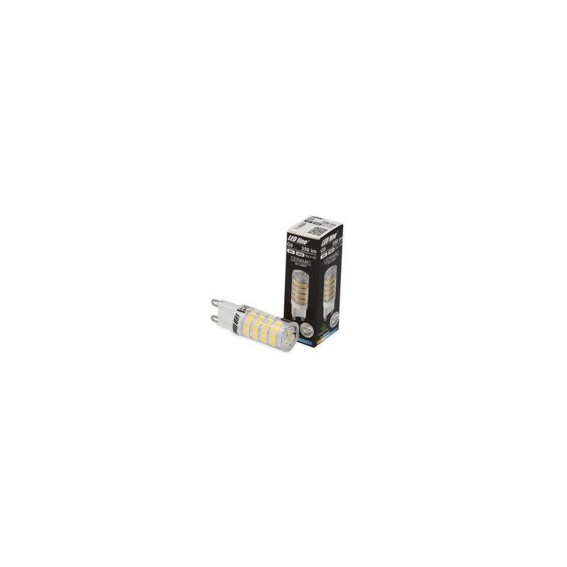 Ampoule LEDline SMD capsule 4W substitut 40W 350 lumens blanc neutre 3000K 220-240V G9
