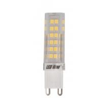 Ampoule LEDline SMD capsule 6W substitut 50W 550 lumens blanc chaud 2700K 220-240V G9