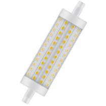Ampoule LED OSRAM 12,5W substitut 100W 1521 lumens Blanc chaud 2700K R7s