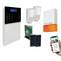 Kit Alarme Sécurité Secur HUB Comelit sans fils Wifi et Ethernet intégrés KSW3234LF