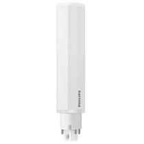 Ampoule LED Philips tubulaire 6.5W substitut 18W 650 lumens blanc neutre 3000K 4 pin G24Q-2