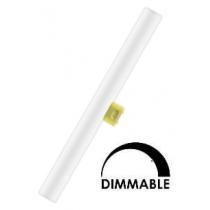 Ampoule LED Osram tubulaire linéaire 7W substitut 40W 470 lumens Blanc chaud 2700K S14S
