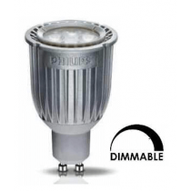 Ampoule LED PHILIPS tubulaire 7w substitut 50w  blanc froid 4000K dimmable GU10