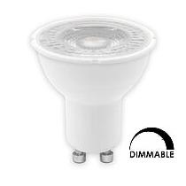 Ampoule LED Tungsram PAR16 5W substitut 50w 380 lumens blanc neutre 3000K dimmable GU10