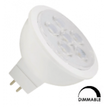 Ampoule LED General electric GU5.3 8W substitut 35W 400 lumens blanc froid 4000K dimmable GU5.3