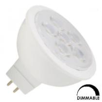 Ampoule LED General electric MR16 8W substitut 35W 380 lumens blanc neutre 3000K dimmable GU5.3