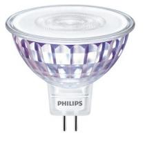 Ampoule LEDspot Philips MR16 5W substitut 35w 345 lumens blanc chaud 2700K Gu5.3