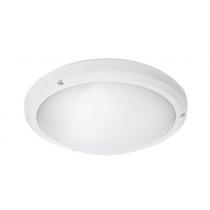 Hublot blanc Deimos  1*E27 75w max IP65 IK10 Vis anti vandale 990110W