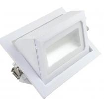 Encastré orientable rectangulaire 36W 4300 lumens 3000K blanc neutre dimmable  dimensions de perçage 235*130mm