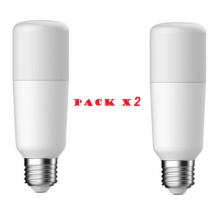 Pack de 2 Ampoules LED G.E. lighting tubulaire 15W substitut 100W 1600 lumens  Blanc froid 4000K E27