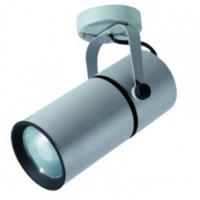 Projecteur a iodure métallique CDM-T 70w patère Gris