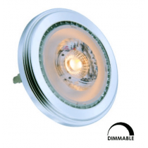 Ampoule LED SFN AR111 13W Substitut 75W 890lumens blanc chaud 3000K dimmable G53 34011130