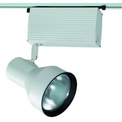 Projecteur iodure sur rail mono pour CDM-T 70w blanc
