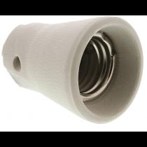 Douille E40 en porcelaine pour lampe à décharge ou Halogène grande puissance