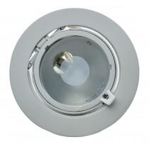 TECHNO KIT projecteur encastrable iodure BLANC G12 70w orientable diam 170mm