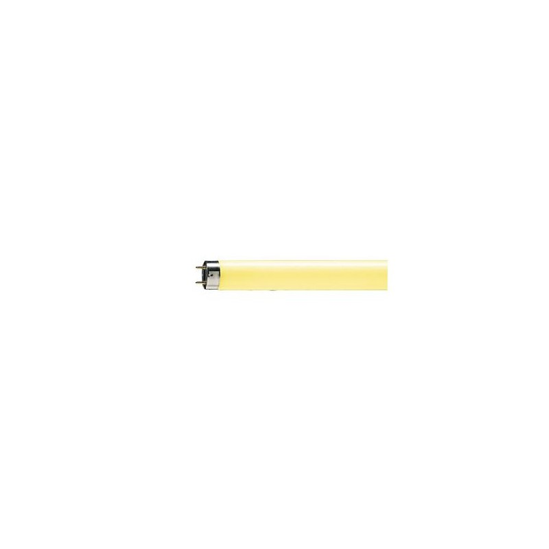 Tube Philips TL-D 18w couleur jaune
