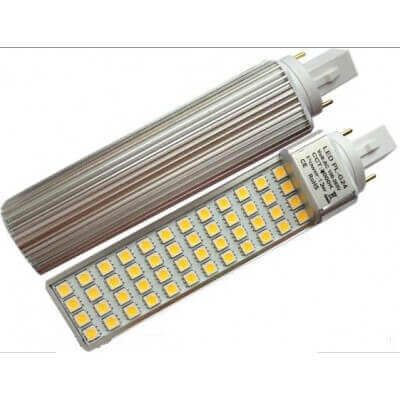 Lampe Led G24d 13w 1200lms 2broches SMD