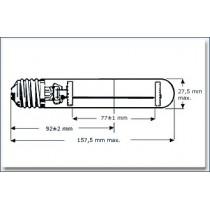 Lampe TUV E27 6WE germicide UVC