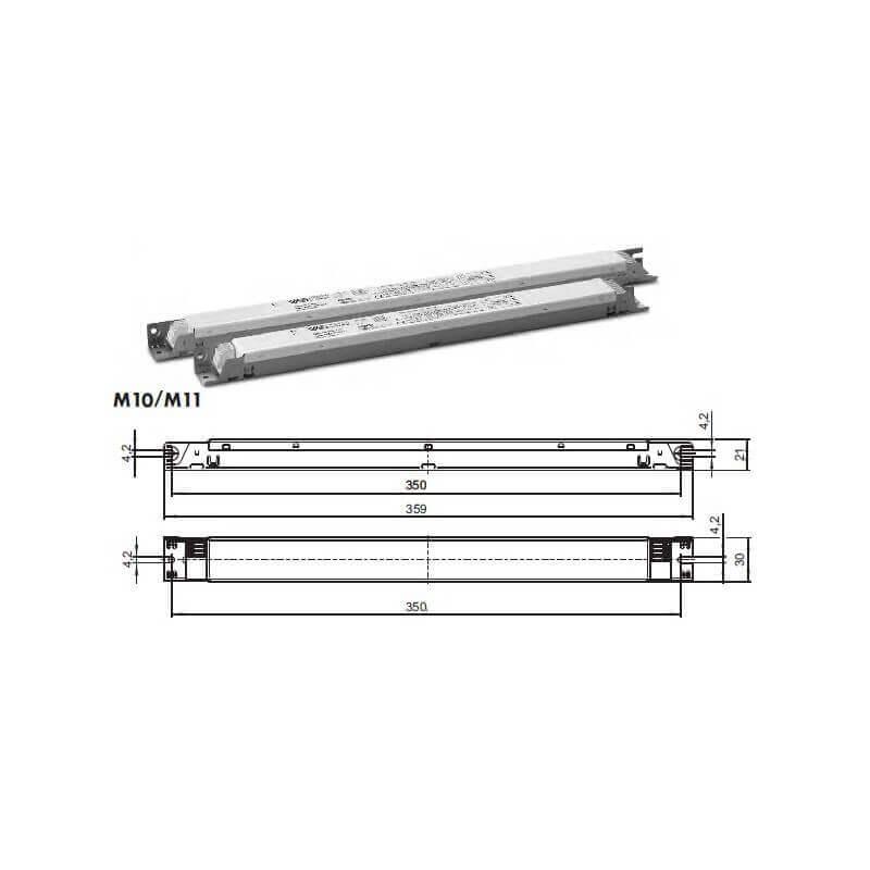 BALLAST electronique VOSSLOH Schwabe T5 2x24w et 2x39