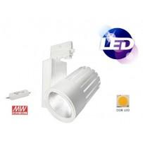 Projecteur  LED sur rail