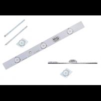 Led barre pour l éclairage de caisson simple ou double face