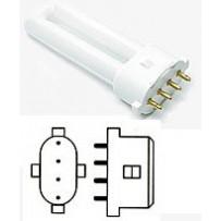 Culot 2G7 lampe fluocompacte