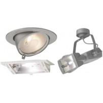 Encastré pour lampes iodures