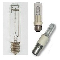 Lampes halogene tubulaire
