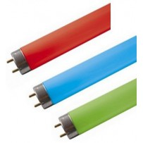 Tube fluorescent T8 couleur